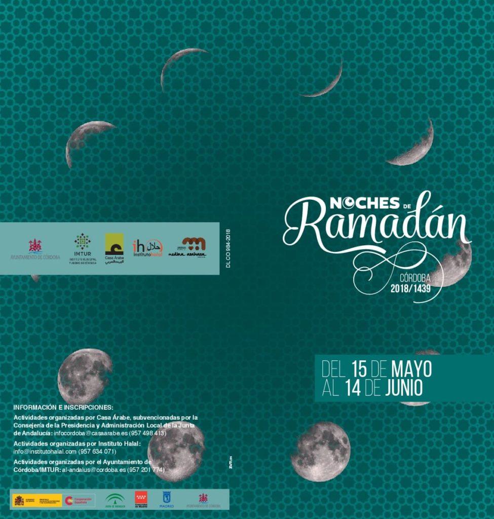 Ramadán Córdoba 2018 cartel