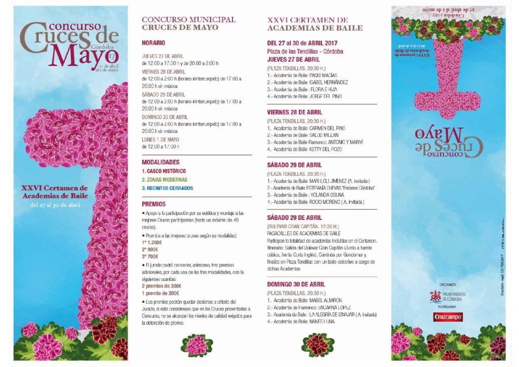 Programa Cruces de Mayo 2017 Córdoba