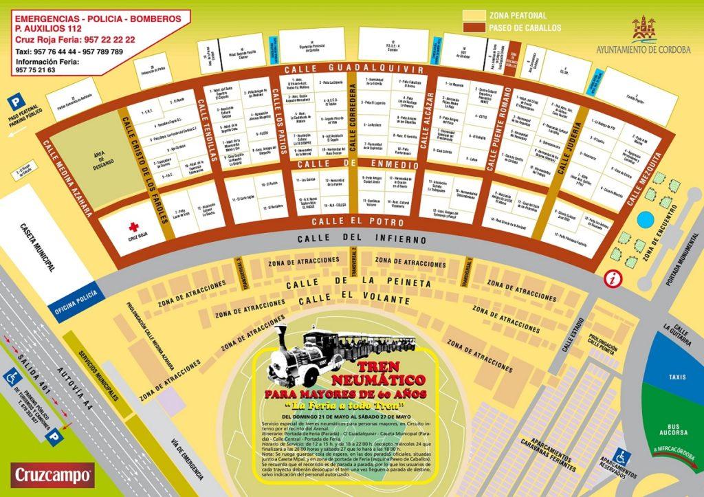 Plano Feria 2017 Córdoba