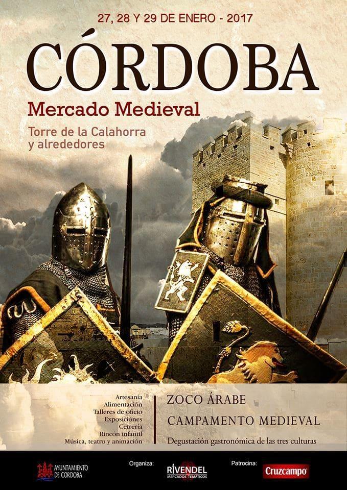 Cartel Mercado Medieval Córdoba 2018
