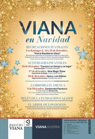 Patios de Viana en Navidad